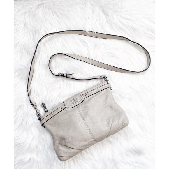 Coach Handbags - Coach Factory Outlet Gray Crossbody